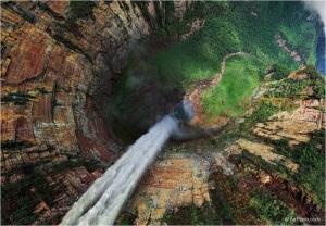 4-Водопад Дракон с высоты птичьего полета
